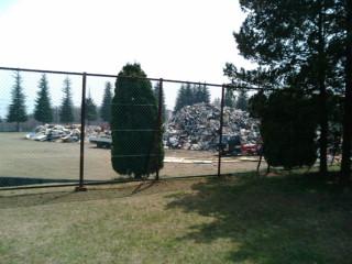 近所のゴミ処理場